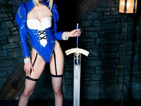 Mike(ミケ) 《Fate stay night》Saber [Mikehouse] 写真集